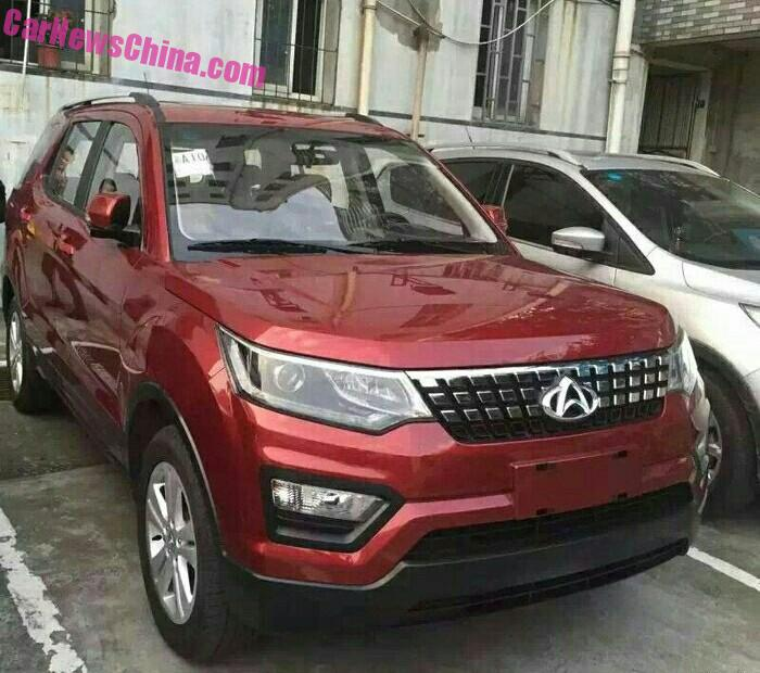 Spy Shots: Changan CX70 SUV is completely Naked in China