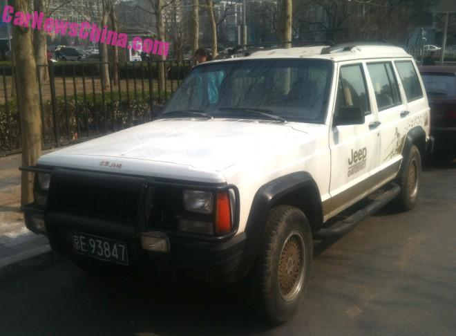Spotted in China: Beijing-Jeep Cherokee Super Space Sport