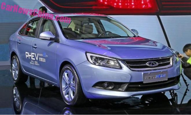 Chery Arrizo 7 hybrid to launch in China in early 2016