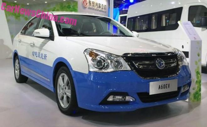 Dongfeng Fengshen A60 EV unveiled in China