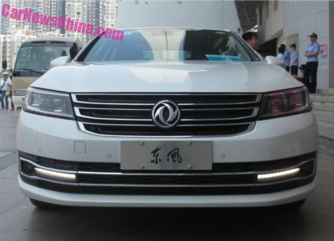 Spy Shots: Dongfeng Number 1 = Dongfeng Fengshen A9