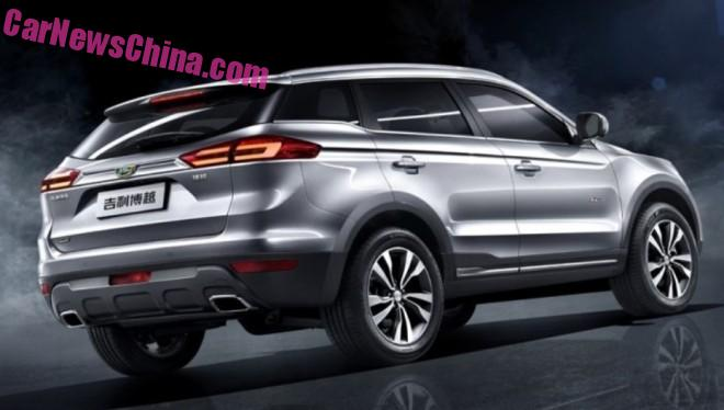 Official Photos of the Geely NL-3 SUV for China