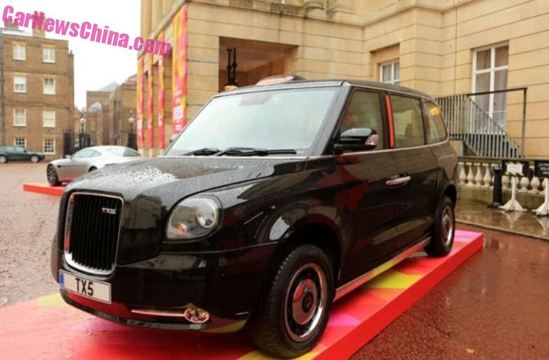 Geely Tx5 Taxi Debuts In England