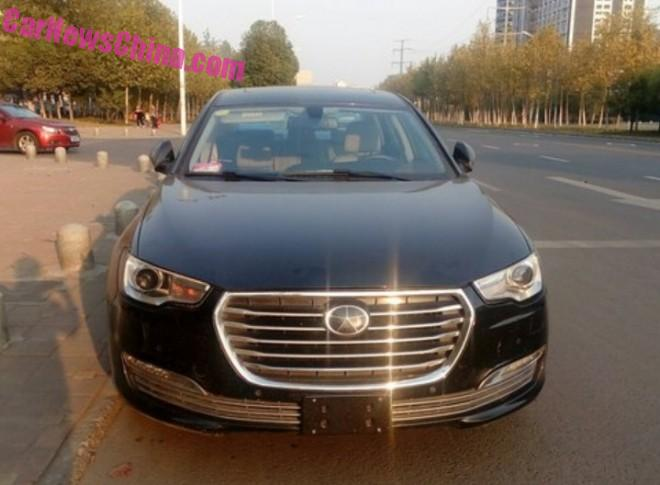 More Spy Shots of the JAC A6 sedan for China