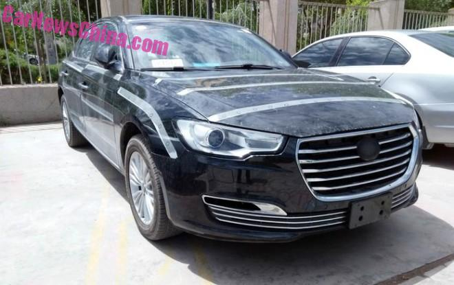 Spy Shots: JAC Refine A6 sedan is Almost Ready for China