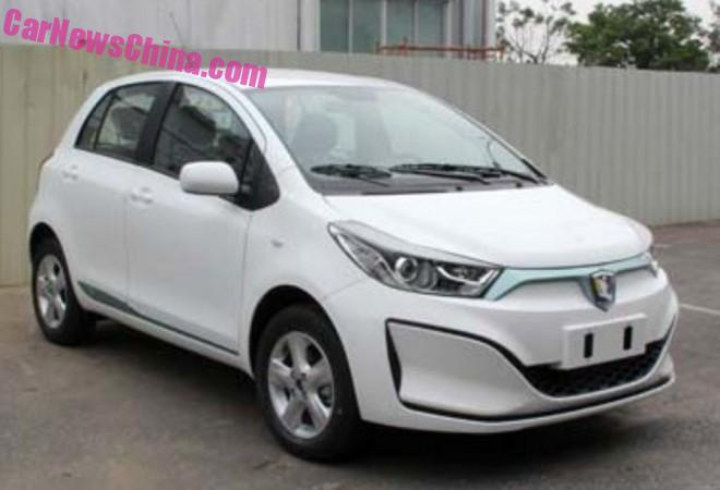 Spy Shots: Guangzhou-Toyota Leahead i1 EV for China