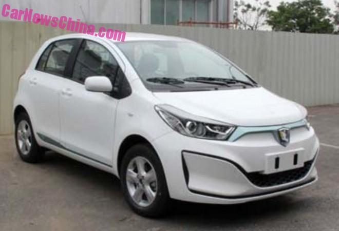 Spy Shots: Guangzhou-Toyota Leahead i1 EV for China