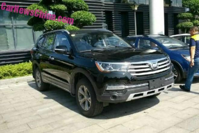 Spy Shots: Lifan X80 SUV is Getting Ready for China