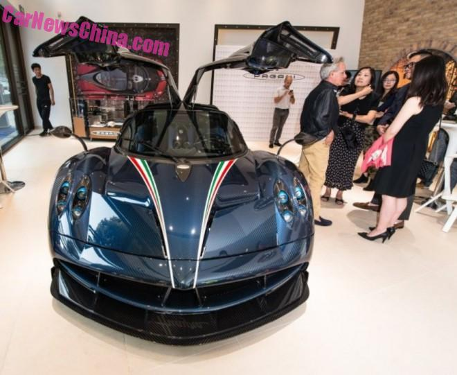 Pagani Huayra Dinastia arrives hits the Supercar market in China
