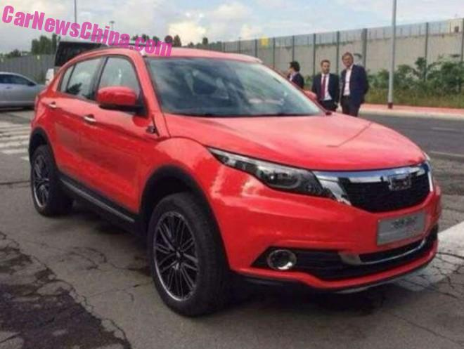 Spy Shots: Qoros XQ3 SUV = the Qoros 5 SUV