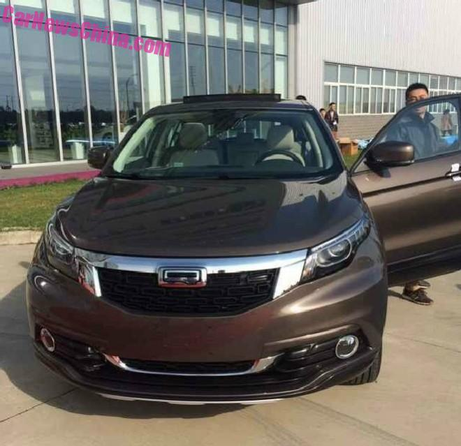 New Photos of the Qoros 5 SUV for China