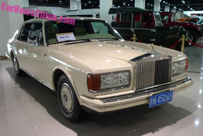 Spotted in China: Rolls-Royce Silver Spirit Mark 1 in White