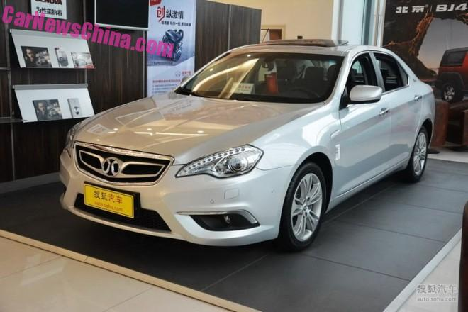Beijing Auto Senova D-Series goes Senova D70