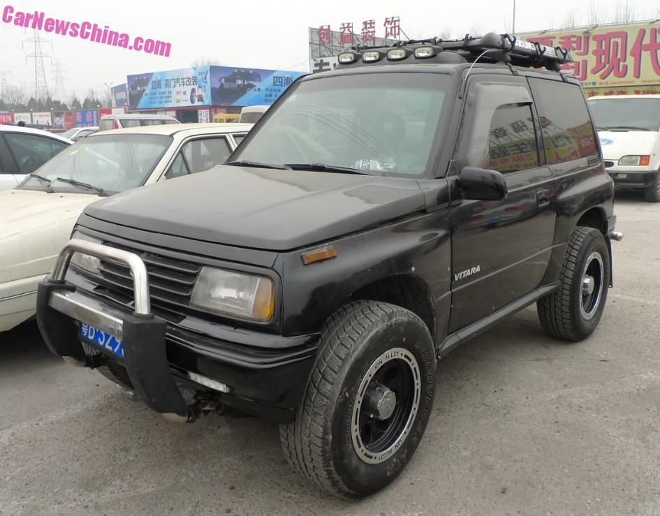 Spotted In China Suzuki Vitara Jxl In Black