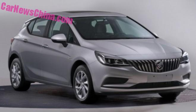 Buick Verano hatchback is Ready for China