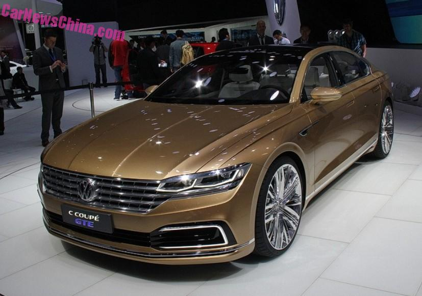 Volkswagen C Coupe Gte Will Launch In China 2017