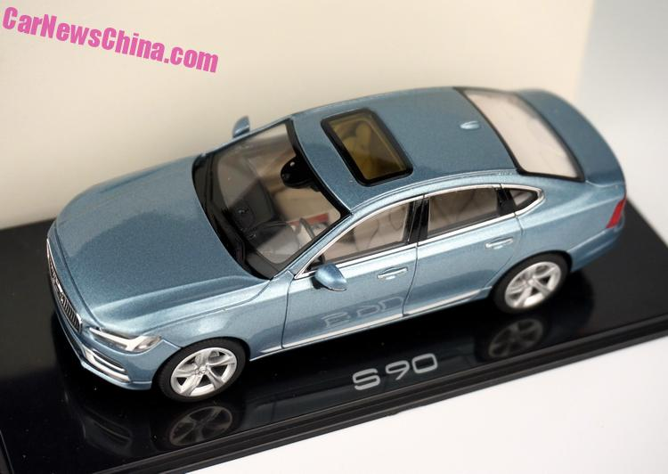 Volvo S90 Blue 2