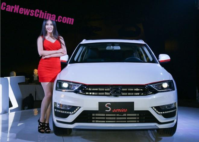 The new Zotye SR7 SUV is Ready for China