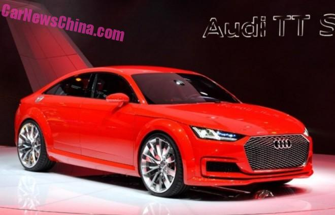 Production-ready Audi TT Sportback to debut in Guangzhou, China