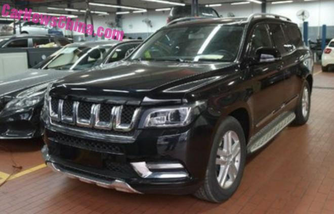 Spy Shots: Beijing Auto BJ90 SUV is Getting Ready for China