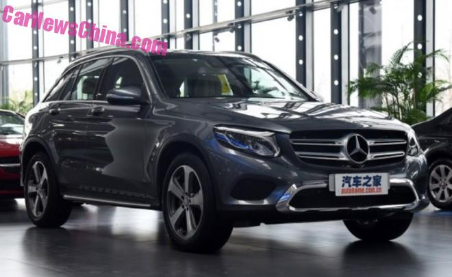 China-made Mercedes-Benz GLC launched on the Chinese car market