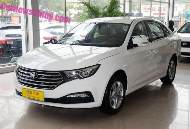 FAW Besturn B30 hits the Chinese car market