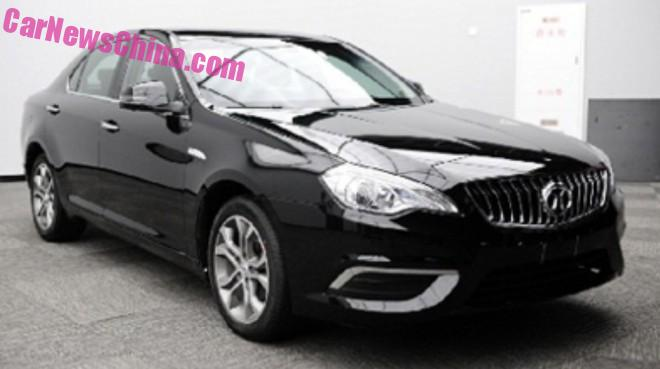 Spy Shots: new grille for the Beijing Auto Senova D70 in China