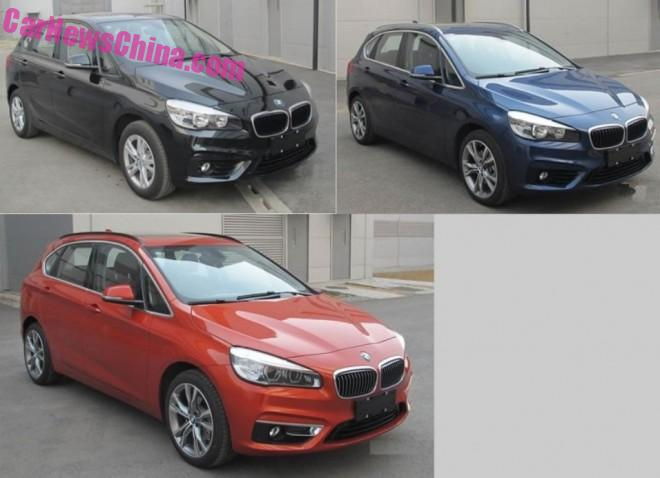 China-made BMW 2-Series Active Tourer will launch in early 2016