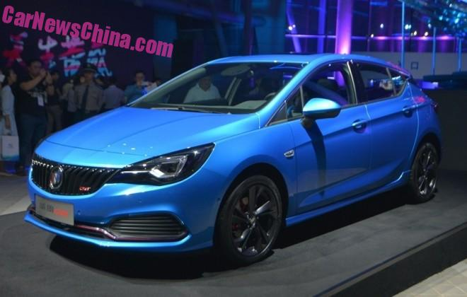 Buick Verano hatchback hits the Chinese car market