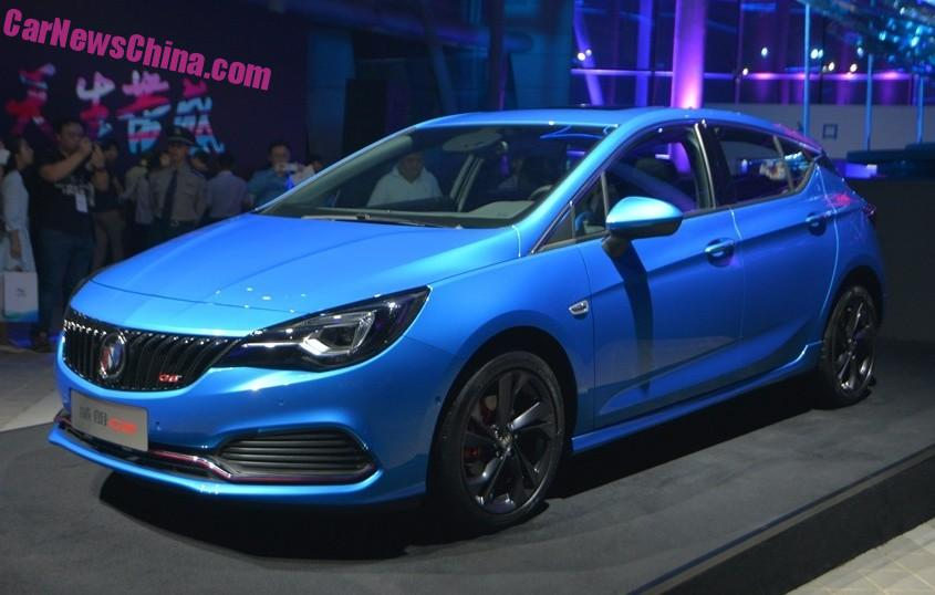 buick verano hatchback hits the chinese car market. Black Bedroom Furniture Sets. Home Design Ideas