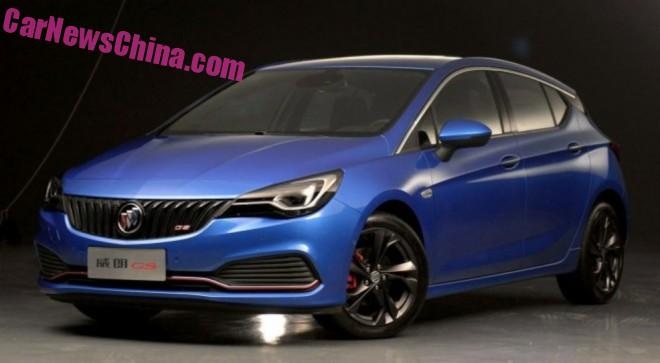 This is the new Buick Verano hatchback for China