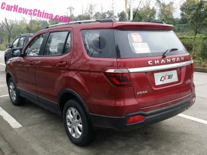 New Spy Shots of the Beijing Auto BJ90 SUV for China