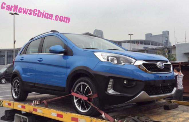 Changhe Q25 arrives at the Guangzhou Auto Show in China