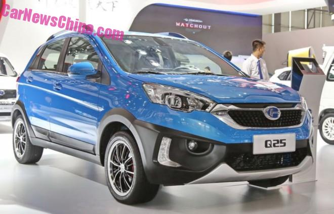Chanhe Q25 unveiled on the Guangzhou Auto Show in China