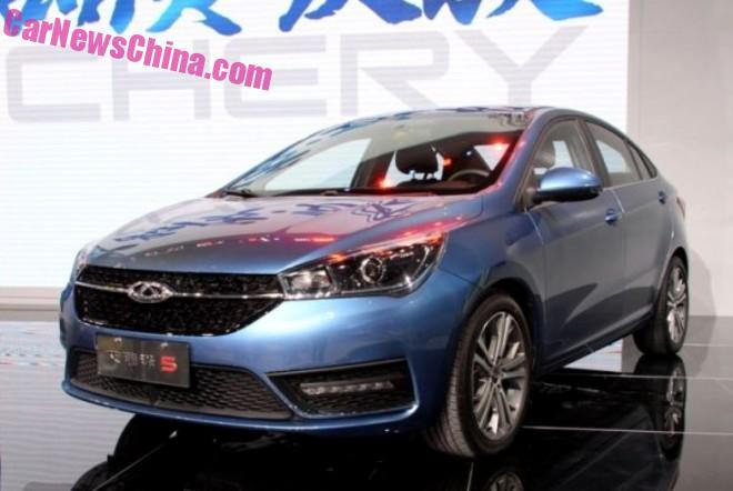 Chery Arrizo 5 debuts on the Guangzhou Auto Show in China