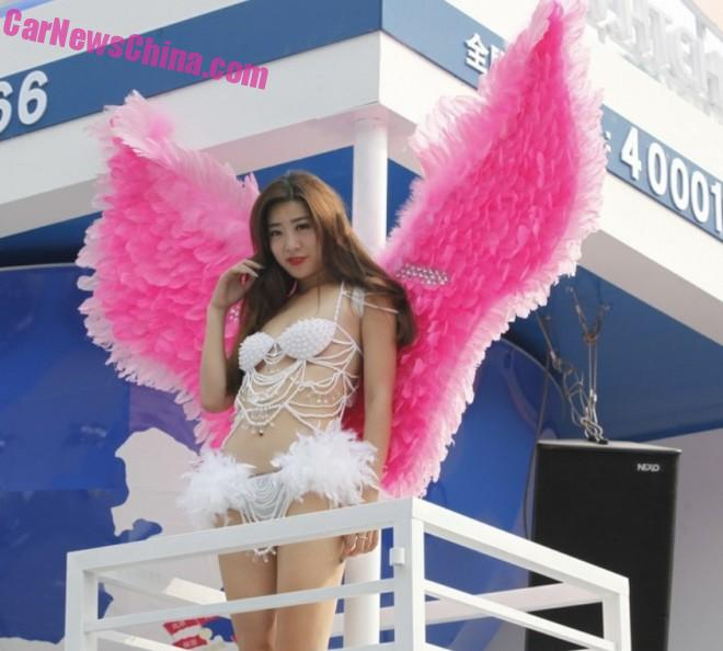The Chinese Car Girls at the Guangzhou Auto Show in China - Part 2