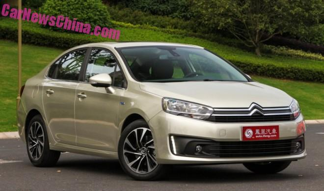 New Citroen C4 launched on the Chinese car market