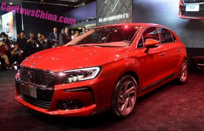 Citroen DS 4S unveiled on the Guangzhou Auto Show in China