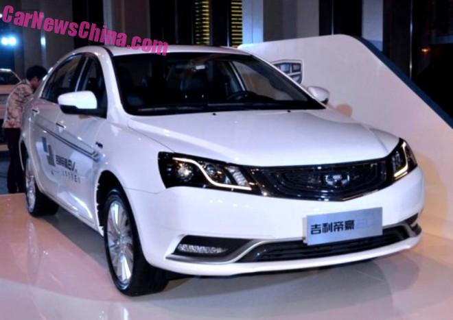 Geely Emgrand EV hits the Chinese car market