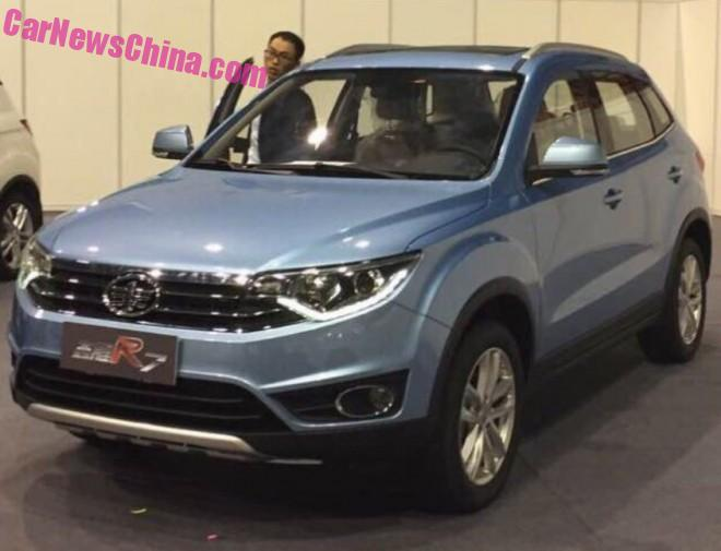 Spy Shots: this is the new FAW Senya R7 SUV for China