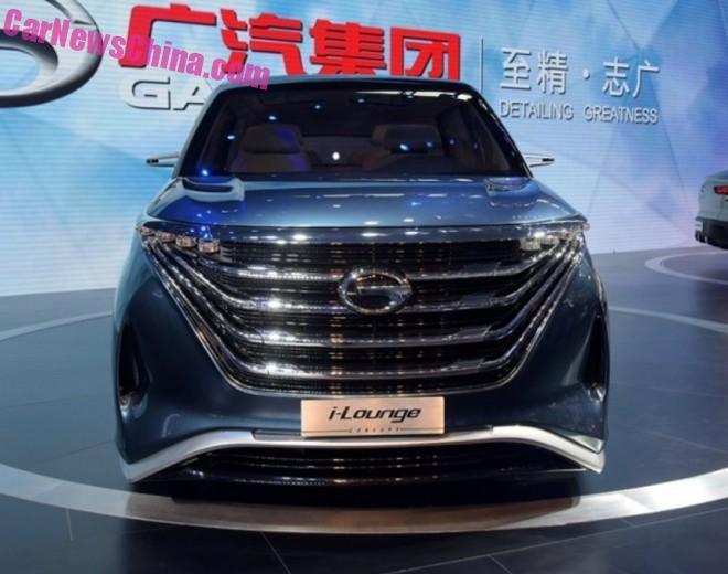 Guangzhou Auto Trumpchi i-Lounge Concept debuts on the Guangzhou Auto Show
