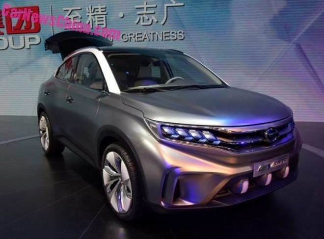 Guangzhou Auto Trumpchi EV Coupe debuts on the Guangzhou Auto Show