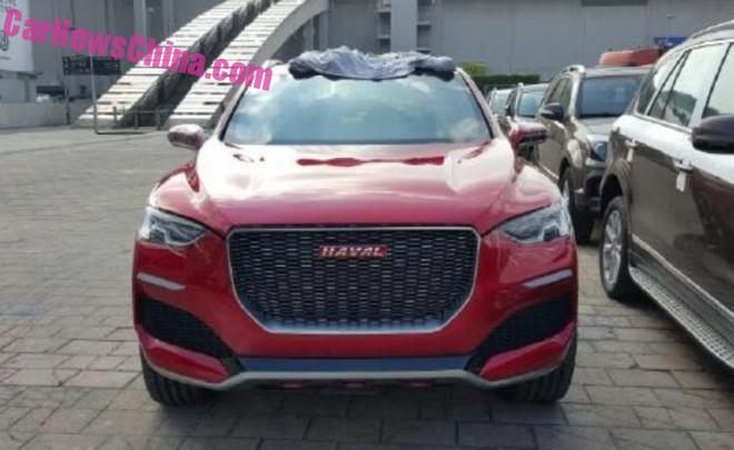 Haval Concept R Out in the Open in Guangzhou