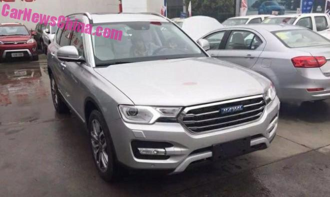 Spy Shots: Haval H7 & H7L naked from all Sides in China