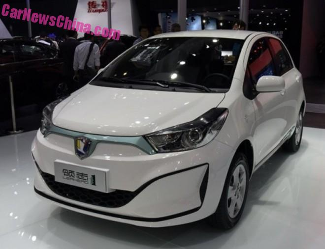 Leahead i1 EV debuts on the Guangzhou Auto Show in China