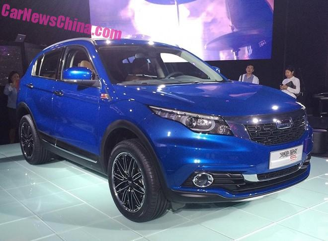 Qoros 5 SUV debuts on the Guangzhou Auto Show in China