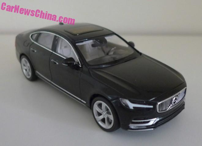 Best Look Ever at the Volvo S90 1:43 Model from China