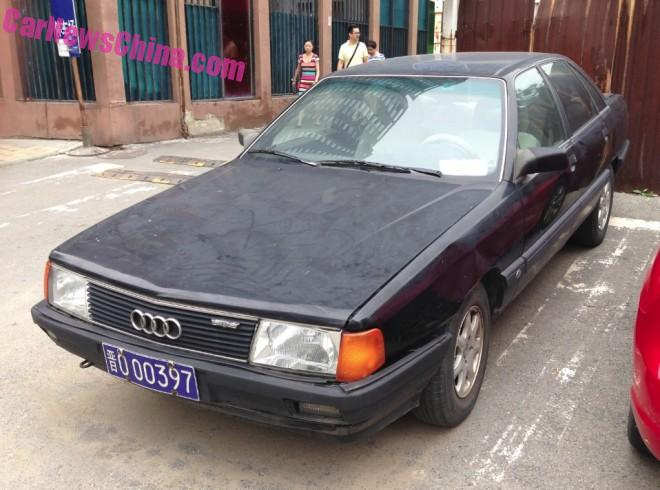 Spotted in China: an early FAW-Volkswagen Audi 100