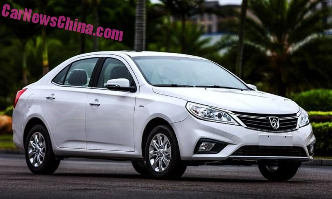 First Photos of the Facelifted Baojun 630 sedan for China