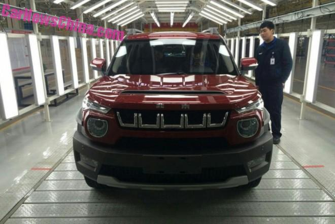 Production of the Beijing Auto BJ20 has started in China